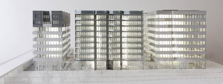 HIKARI Lyon Confluences - Architecte: Kengo Kuma & Associates