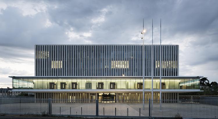 Nouveau Palais de Justice à Caen